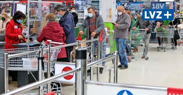 Der Tag vorder Schließung: Leipziger stürmen die Baumärkte