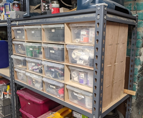 Cut your own flat-pack storage rack.
