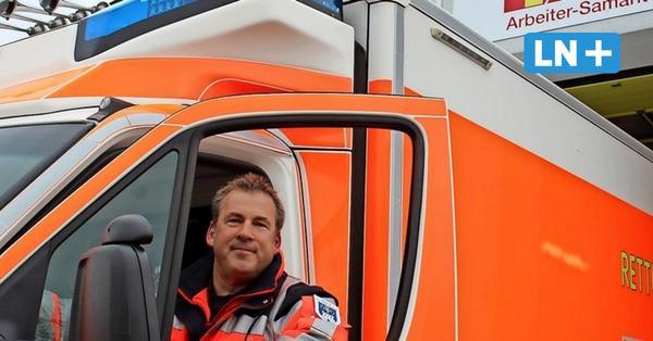 25 Jahre beim ASB-Rettungsdienst: Darum hilft Marcel Graf aus Heiligenhafen gerne Menschen