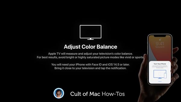 How to easily color calibrate your Apple TV with an iPhone