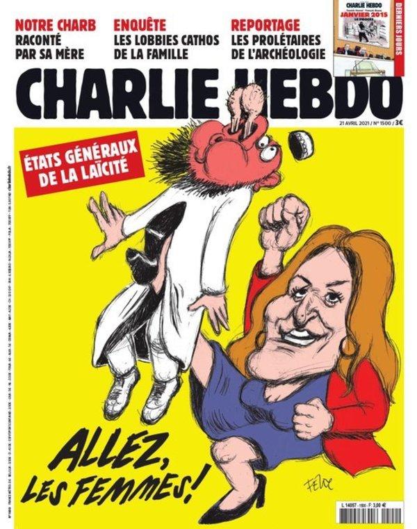 """Une de """"Charlie-Hebdo"""" par Félix (21 Avril)"""