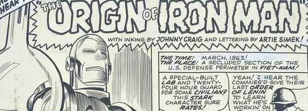 Gene Colan - Iron-Man Original Comic Art