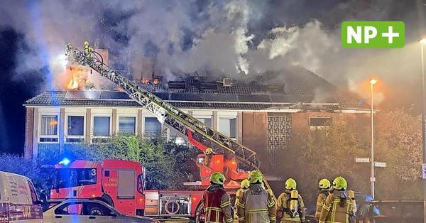 Einsatz für die Feuerwehr in der Südstadt: Dachstuhl in Flammen