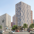 Berlins neues 100-Mio-Viertel : Cafés, Hotels und Arztpraxen statt Betonruine