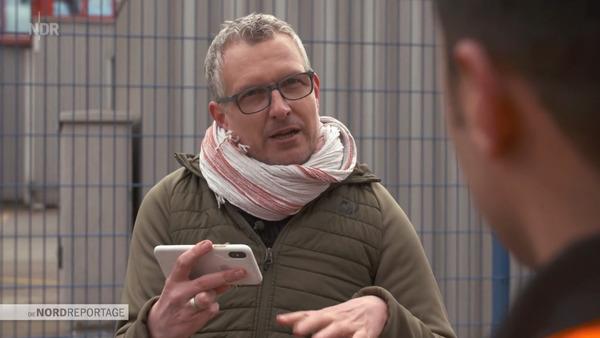 Axel Limberg (extrait du documentaire «Der Pate» - NDR)