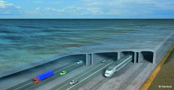 Image de présentation du tunnel immergé du Fehmarn Belt