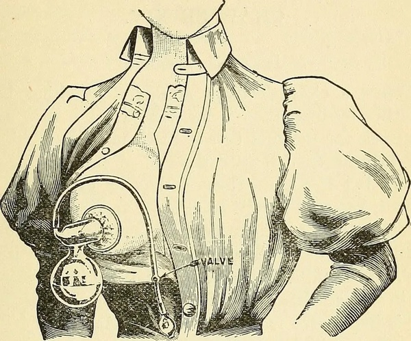 Illustration from the book 'Infant-feeding in its relation to health and disease' by Louis Fischer (1903)