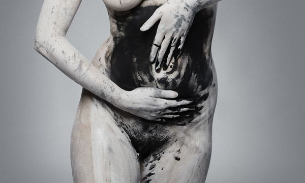 """'The Mother' by New Zealand photographer Camille Sanson. Part of her solo exhibition 'Absolution', which reflects on her personal journey into motherhood and how """"in embracing and exploring darkness, we can find liberation and eventual progression."""" (camillesanson.com)"""