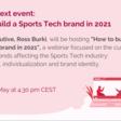 """How to build a loyal Community as a Sports Tech company?"""