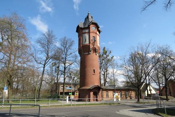 De Wasserturm von Dallgow-Döberitz. (Foto: Andreas Krüger)