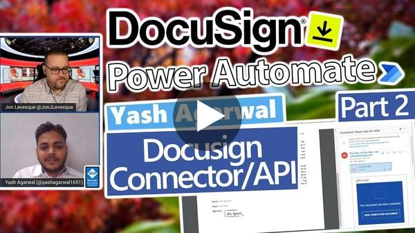 Power Automate Tutorial - Using the DocuSign API