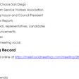 April 25 General Meeting Minutes