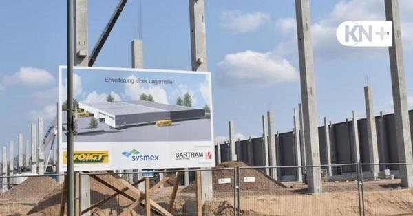 Voigt Logistik: Hightech-Lagerhalle wächst im Industriegebiet Süd Neumünster