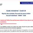 Guide minsitériel-Covid-19: les consignes pour la reprise du 26 avril