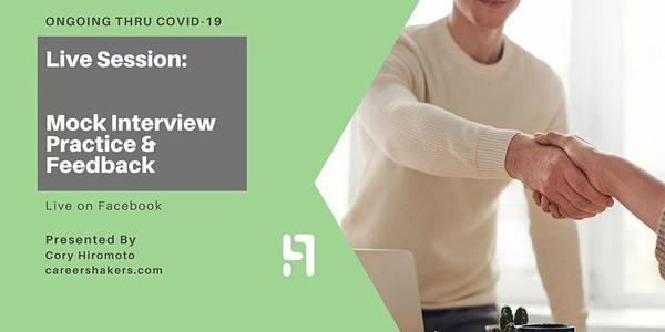 Mock Interview & Feedback—Sales Development Representative | 6:00 PM