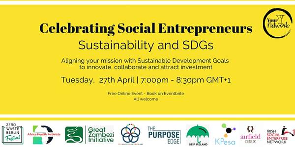 Sustainability and SDGs - Celebrating Social Entrepreneurs | 11:00 AM