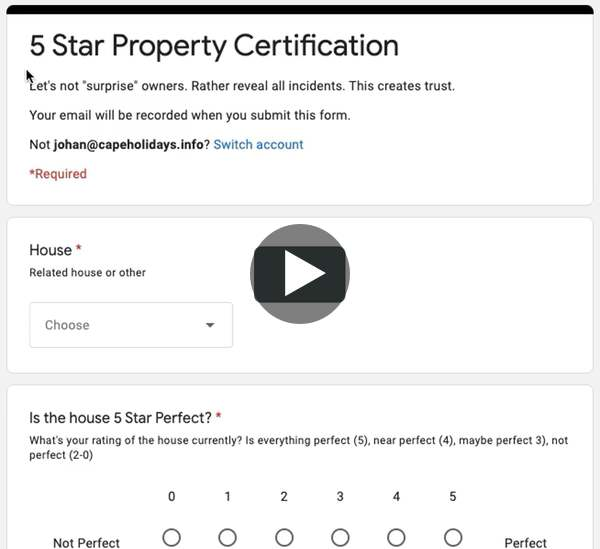 Airbnb Check-Out Form & Review Of Guest By Host