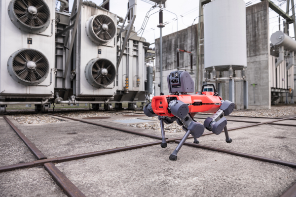 The ANYmal inspection robot gives Spot some four-legged competition