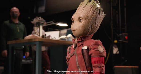 Disney's amazing bipedal robot Groot looks like Asimo discovered cosplay