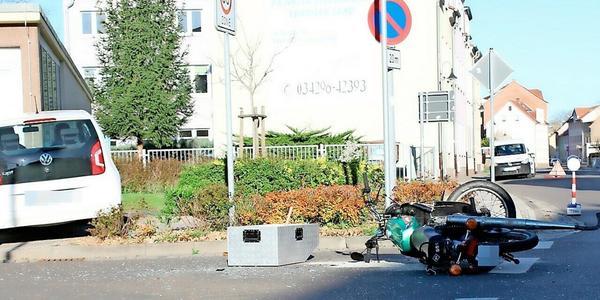 Dreijähriges Kind bei Unfall nahe Pegau schwer verletzt