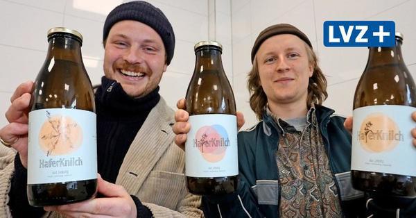 Wie zwei Freunde in Leipzig-Plagwitz Haferdrink herstellen