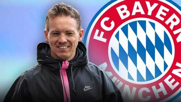 Bericht: FC Bayern und Trainer Julian Nagelsmann erzielen Einigung - Poker um Ablöse - Sportbuzzer.de