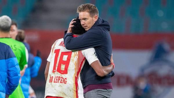 """""""Bin wegen Nagelsmann hier"""": Wie reagieren RB Leipzigs Spieler auf Wechselwunsch? - Sportbuzzer.de"""
