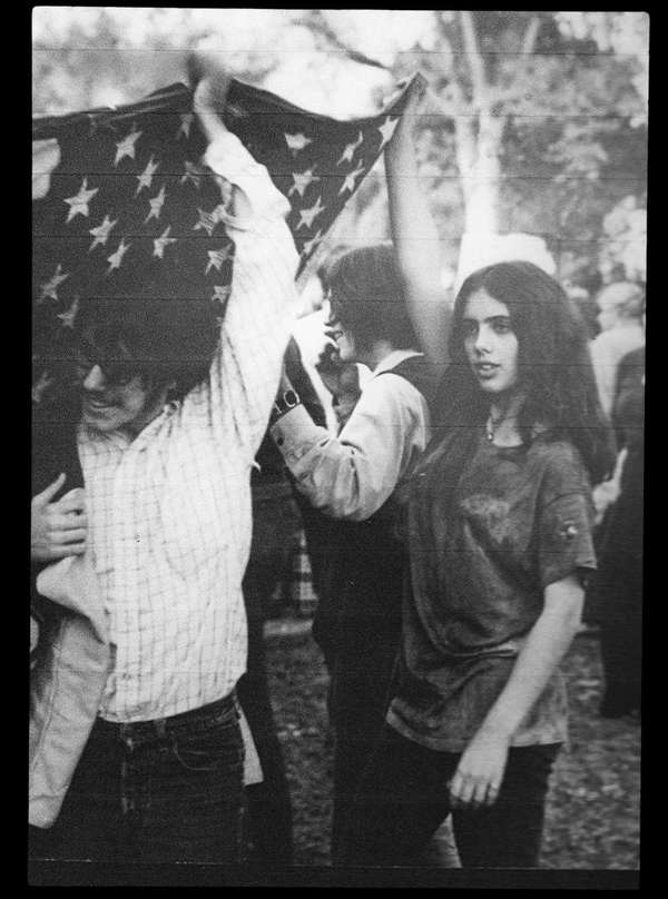 Me at the Get Clean for Gene (McCarthy) Campaign, 1968.