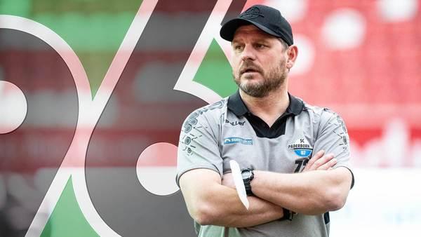 """""""Gelesen habe ich das auch"""": Paderborns Steffen Baumgart dementiert Kontakt zu 96"""