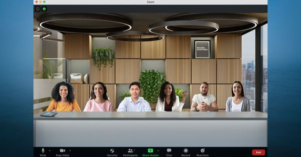 Zoom's Immersive View could make video calls feel a bit more in-person