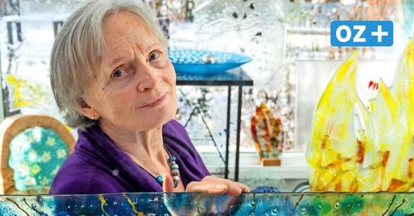 Bartenshagener Künstlerin fertigt Kunstwerke aus geschmolzenem Glas