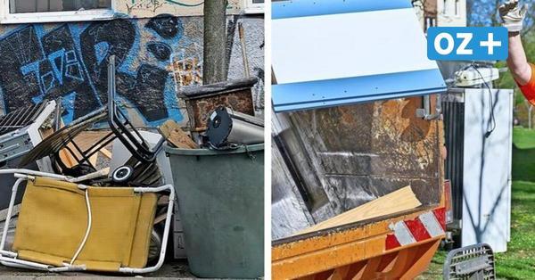 Sperrmüll-Ärger in Rostock: So viel Gerümpel wird auf den Straßen der Stadt illegal abgeladen