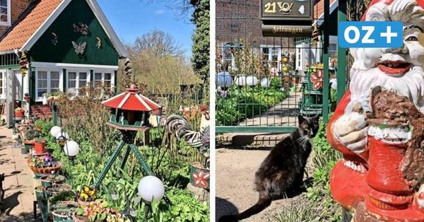 Unverwechselbar: Diesen Garten bei Upahl muss man gesehen haben