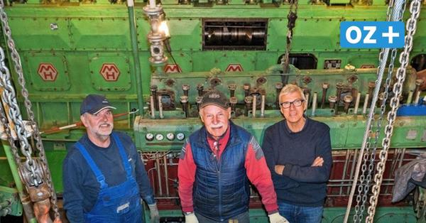 Nach 51 Jahren Stillstand: Historischer Schiffsdiesel in Rostock soll wieder tuckern
