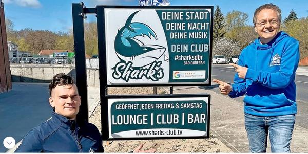 Zum Geburtstag: Digitale Party im Doberaner Sharks