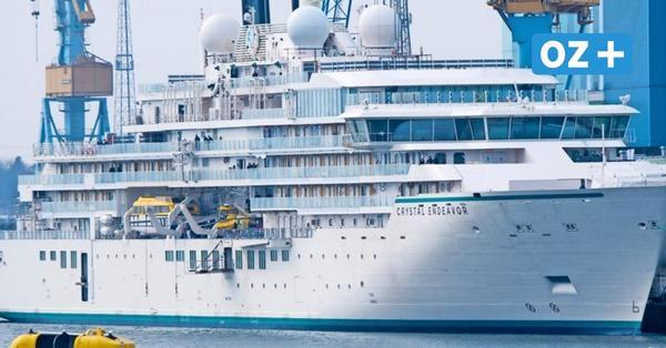 """""""Crystal Endeavor"""": Wie die Reederei schon jetzt Millionen mit der Stralsunder Luxusyacht macht"""