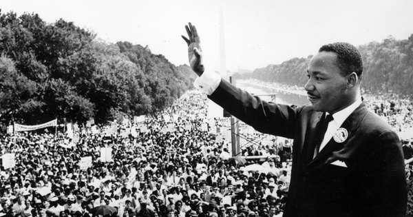 Martin Luther King, Jr., 28 August 1968, Washington DC - I Have a Dream speech.