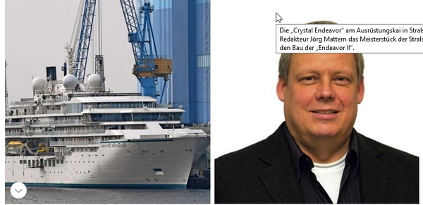 """Stralsunder Schiffbau-Erfolg: Die Zeit ist reif für die """"Endeavor 2"""""""