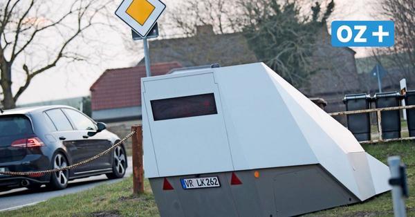 Vorpommern-Rügen kauft Blitzeranhänger: Einnahmen durch Corona gesunken