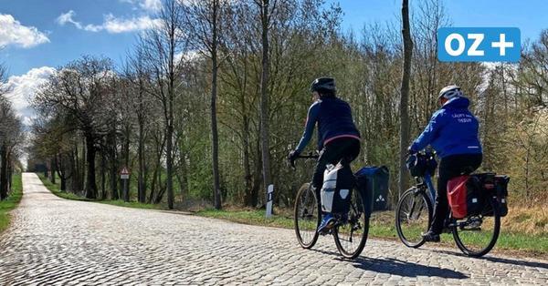 Küstenradweg wird weiter gebaut: Vollsperrung auf Pflasterstraße vor Stralsund