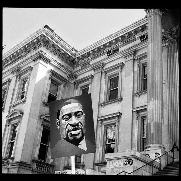 Black Lives Matter protest, New York City, 18 July 2020.