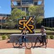 Campus Tour Bike Rides May 4 at 1 pm