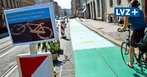 Radstreifen auf dem Leipziger Dittrichring: Sind Fahrradfahrer gut genug geschützt?