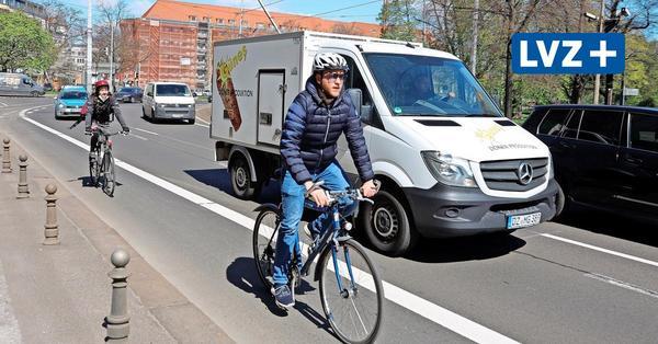 Im Test und Umfrage: Wie fährt sich der neue Radweg auf dem Dittrichring?