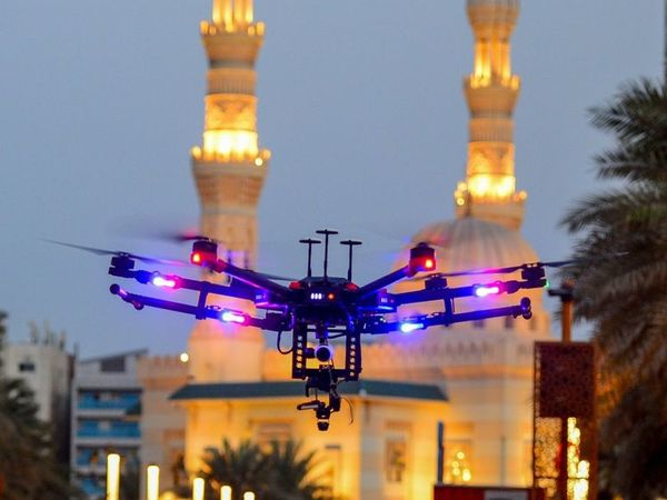 Sharjah Police drones use facial recognition technology to identify wanted criminals
