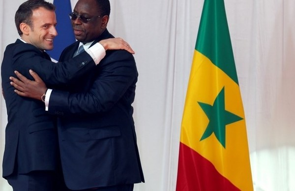 How does cowardice and fear among Africans facilitate French colonization?