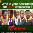 Which Presidential ticket is your preferred choice for the 2024 election?