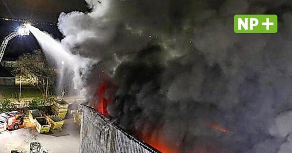 Hannover: Millionenschaden nach Feuer in Recyclingbetrieb