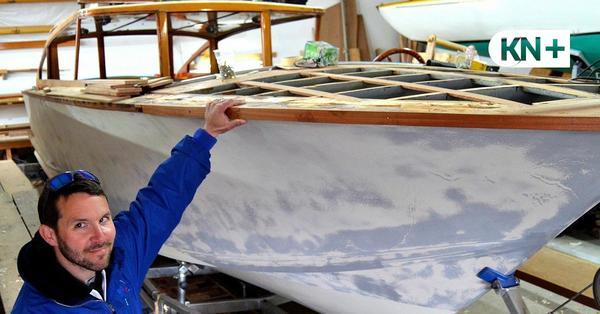Edles Wassertaxi aus Venedig für die Kieler Förde