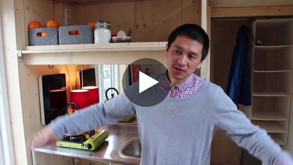 Tiny House: Van Bo Le-Mentzel presents the 100-euro flat